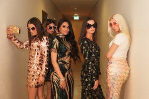 Soraya's Angels before the show