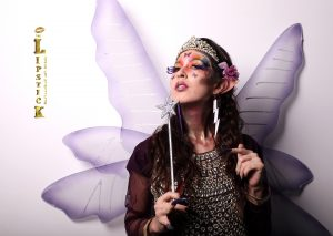 Creative Butterfly Fairy Makeup by one of our students