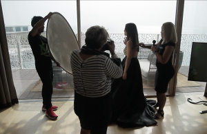 Photoshoot with our VIP Client at the Bulgari Hotel and Resorts