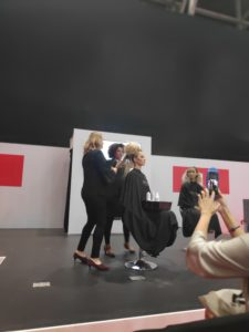 Backstage at Professional Beauty 2020