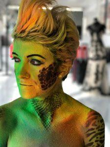 Behind The Scenes UV Makeup