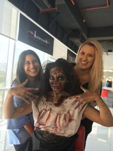 Special Effects Makeup on The International Platinum Media Makeup Course with Diploma