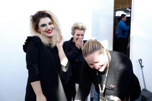 Creative and Colourful Backstage- Professional Beauty GCC