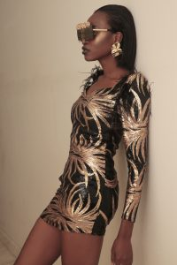 Gold Goddess Makeup